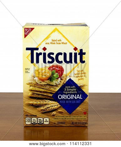 Triscuit Baked Crackers