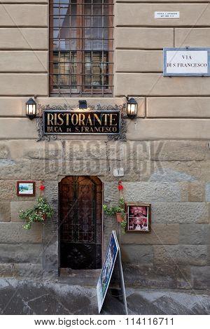 Buca Di S. Francesco Restaurant Arezzo Italy