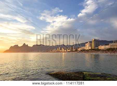Ipanema Leblon and Arpoador beaches
