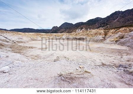 Greece. Nisyros. Stefanos Crater