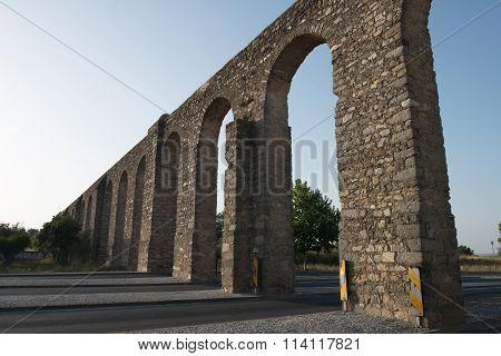Aqueduct in Evora