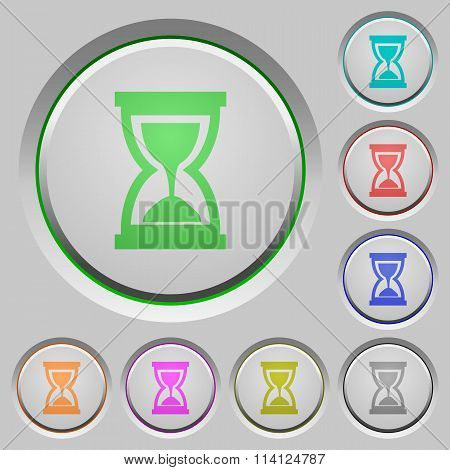 Hourglass Push Buttons