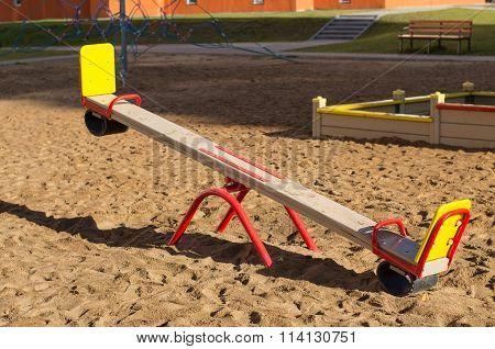 Sandy Playground For Children