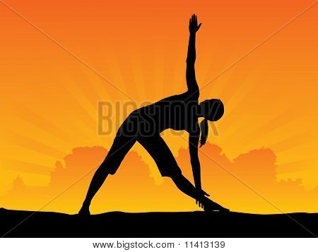Yoga - Triangle Pose