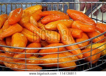 Sugar Glazed Sweet Potatoes
