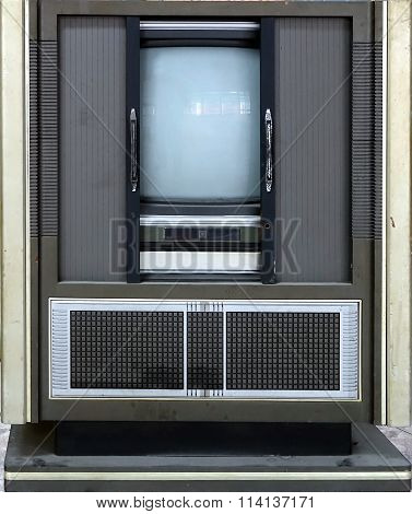 Retro Style Television Set