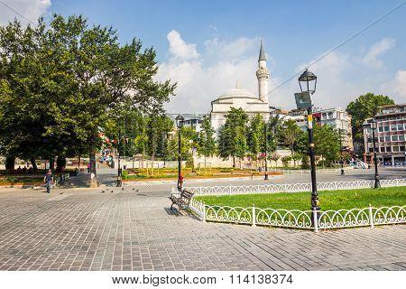 Sultanahmet Square A Popular Tourists Area