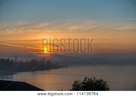 Hazy Sunset 2