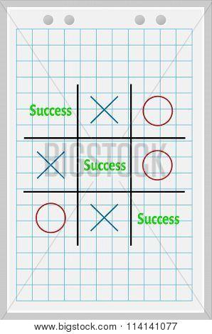Concept of success.