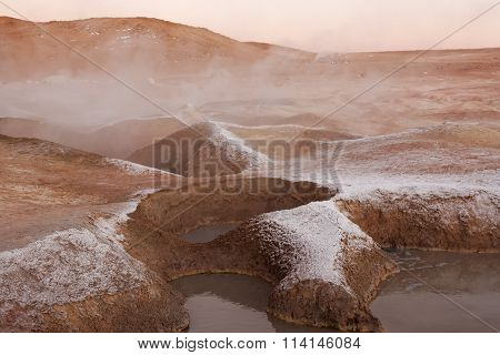 Steam Pools Craters