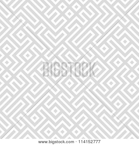 Vector light seamless pattern. Traditional hatching of architectural hand drawn graphic.