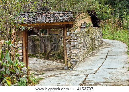 Idyllic beauty of ancient stone houses