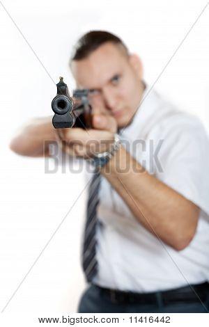 Homem com arma
