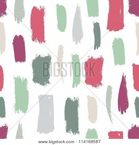 Seamless brush strokes pattern