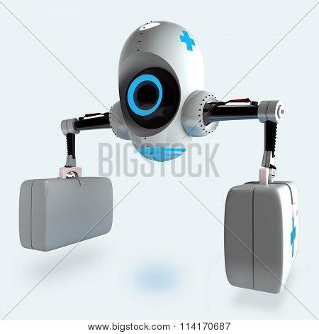 futuristic medical robot