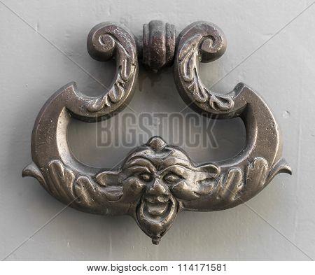 Image Of Ancient Door Knocker