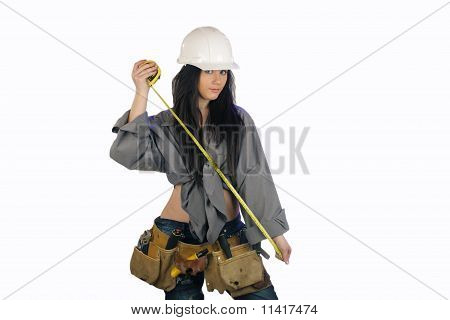 Beautiful Teen Construction Worker (2)