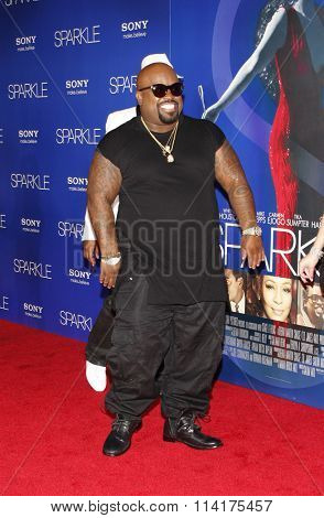 Cee-Lo Green at the Los Angeles premiere of