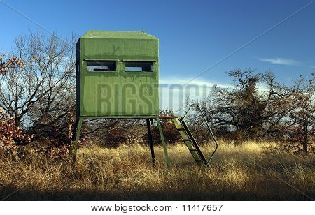 Deer Hunting Blind