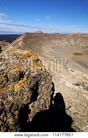 Timanfaya  In Los Volcanes Volcanic R