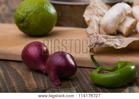 Shallot With Vegetables