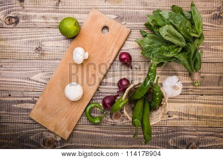 Composition From Vegetables