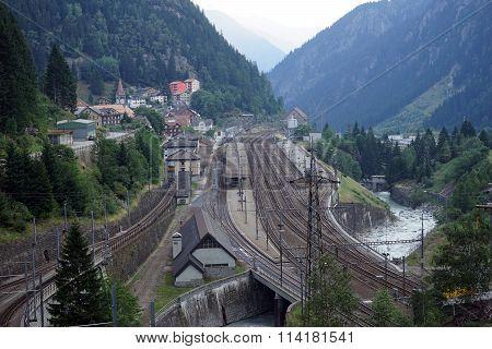 Goschenen Railway Station