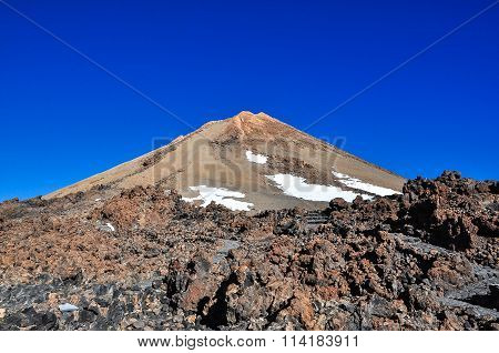 Peak of El Teide Volcano