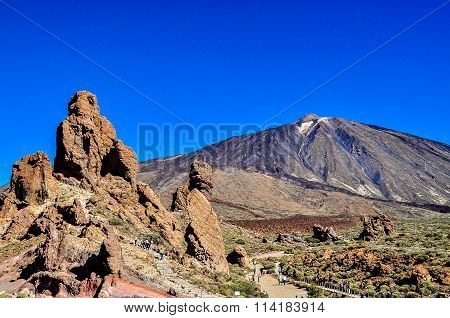 El Teide volcano,