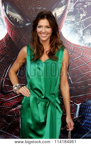 Tricia Helfer at the Los Angeles premiere of