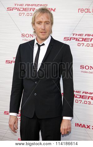 LOS ANGELES, CALIFORNIA - June 28, 2012. Rhys Ifans at the Los Angeles premiere of