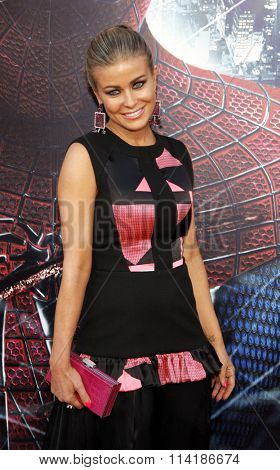 LOS ANGELES, CALIFORNIA - June 28, 2012. Carmen Electra at the Los Angeles premiere of