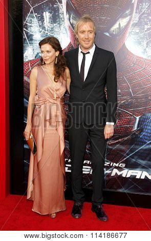 Anna Friel and Rhys Ifans at the Los Angeles premiere of