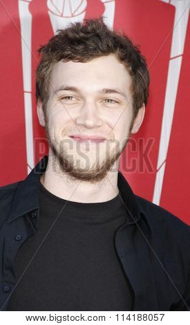Phillips Phillips at the Los Angeles premiere of