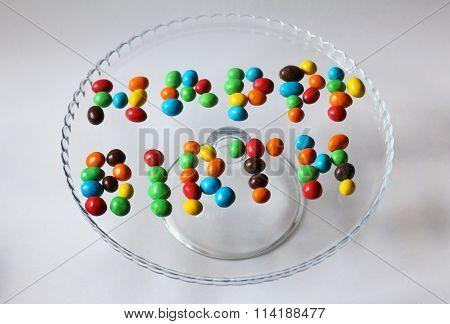 color happy birthday