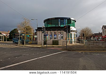 Liverpool 12Th January 2016. Shelter In The Middle Of The Roundabout, Mentioned In The Beatles Song