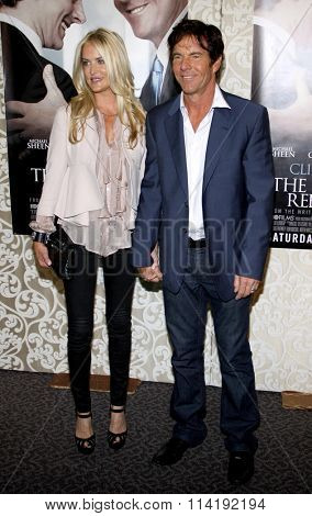 Dennis Quaid and Kimberly Quaid at the Los Angeles Premiere of