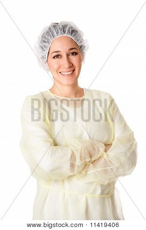 Happy Medical Assistant