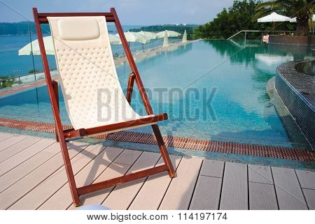 Chaise Longue For A Comfortable Summer Relax