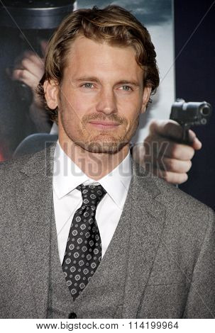 Josh Pence at the Los Angeles premiere of