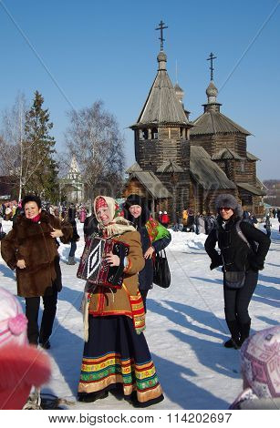 Shrovetide - The Celebration And Folk Festival, Suzdal