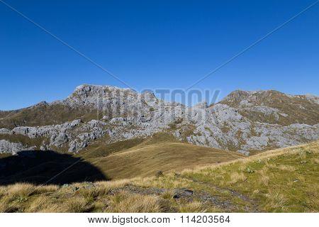 View of Mount Owen in Kahurangi National Park