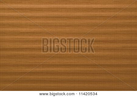 material with a rough surface mimicking light brown wood