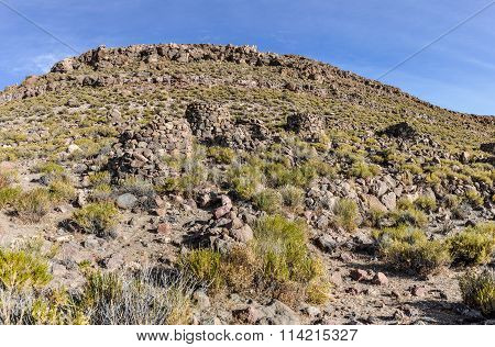 Amara Ruins In The High Andean Plateau, Bolivia