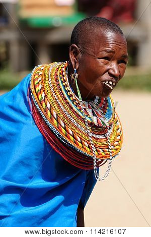 People From Tribes Of Africa, Kenya