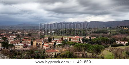 Arezzo From Above