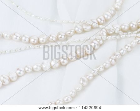 Pearl Necklace Of Natural Pearls