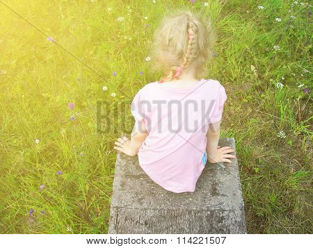 Little Girl In The Summer