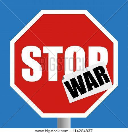 Stop The War Sign