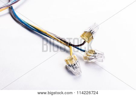 Wires With Plugs On The Ends